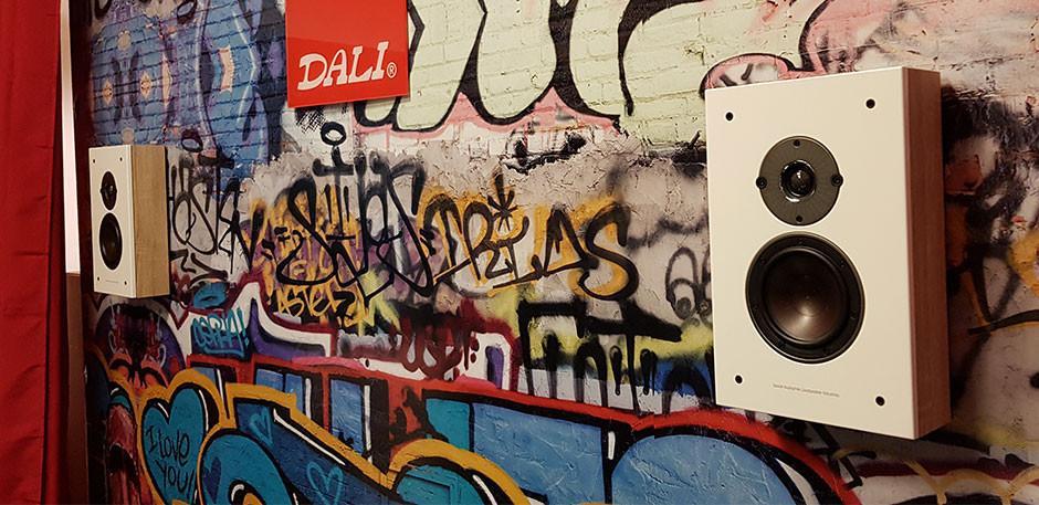DALI Oberon On-Wall na Audio Video Show 2018