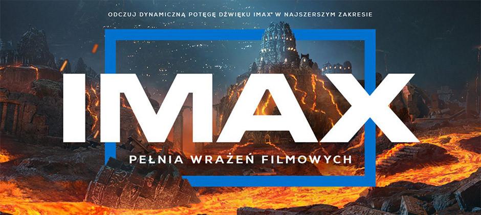 IMAX logo z polskich kin