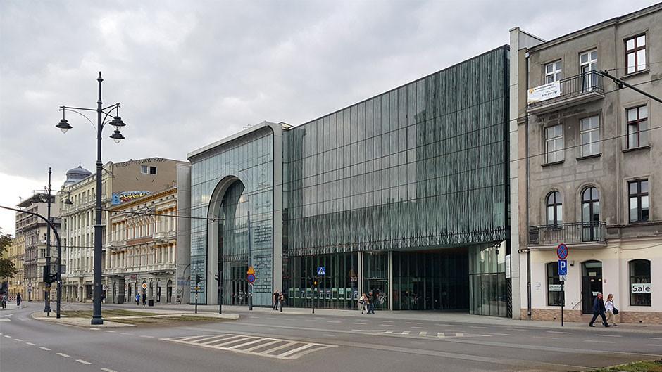 Łódź, ul. Narutowicza - Filharmonia Łódzka