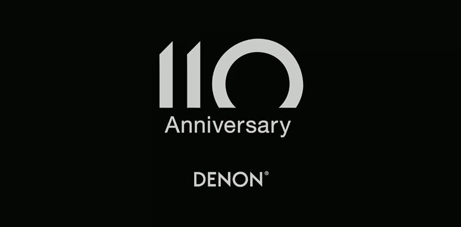 Denon - 110 Anniversary logo