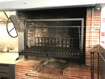 Custom Indoor BBQ Grill