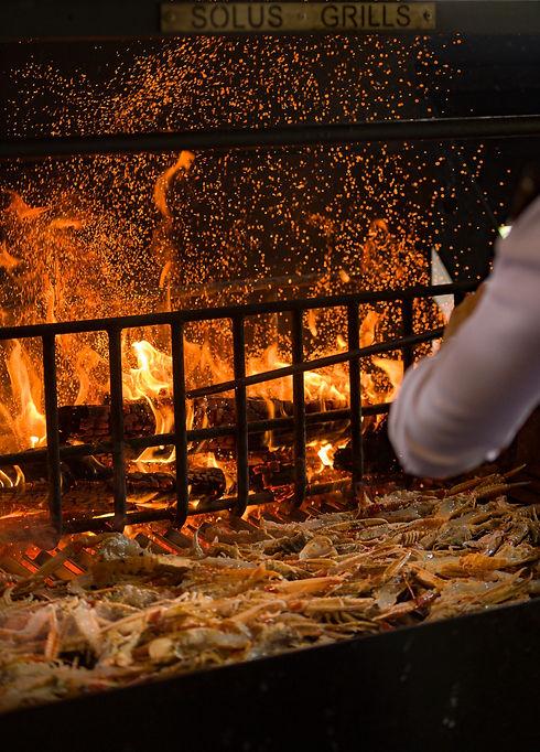 Restaurant BBQ Grill