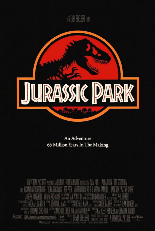 Jurassic Park - okładka