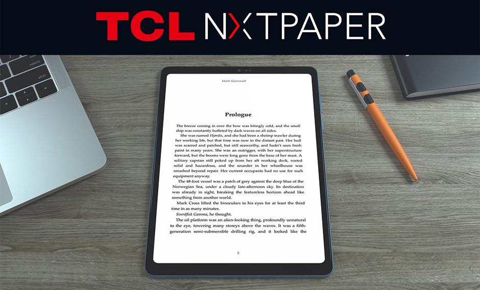 CES 2021 / TCL - NXTPAPER