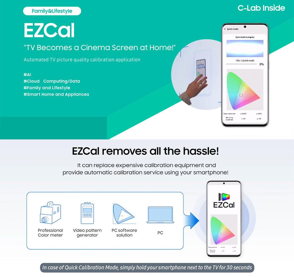 CES 2021 - C-Lab EZCal - phone calibrator