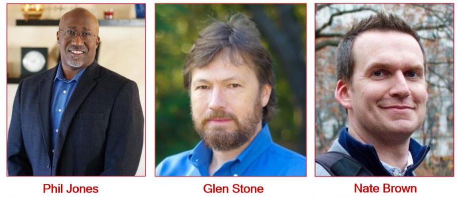 Phil Jones / Glen Stone / Nate Brown