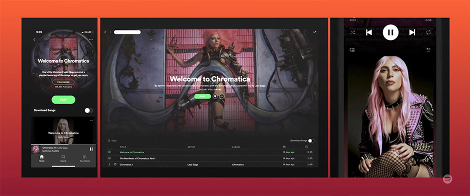 Spotify - Enhanced Albums