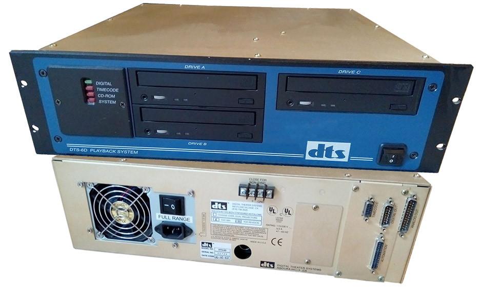 DTS-6D kinowy odtwarzacz audio w DTS