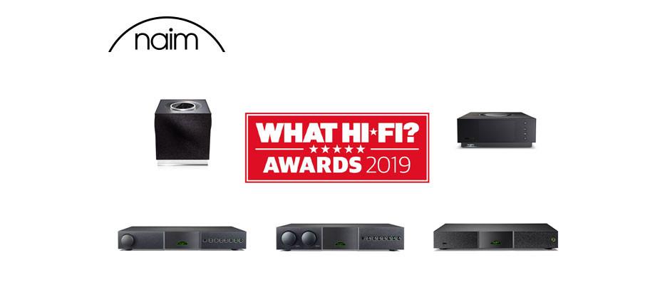 NAIM rozbił bank nagród brytyjskiego magazynu What Hi-Fi