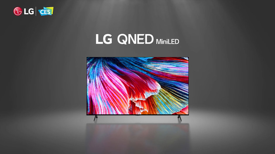 CES 2021 - LG QNED MiniLED television