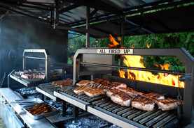 Outside Event Catering BBQ Grill