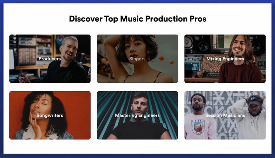 Spotify - SoundBetter - hire musicians
