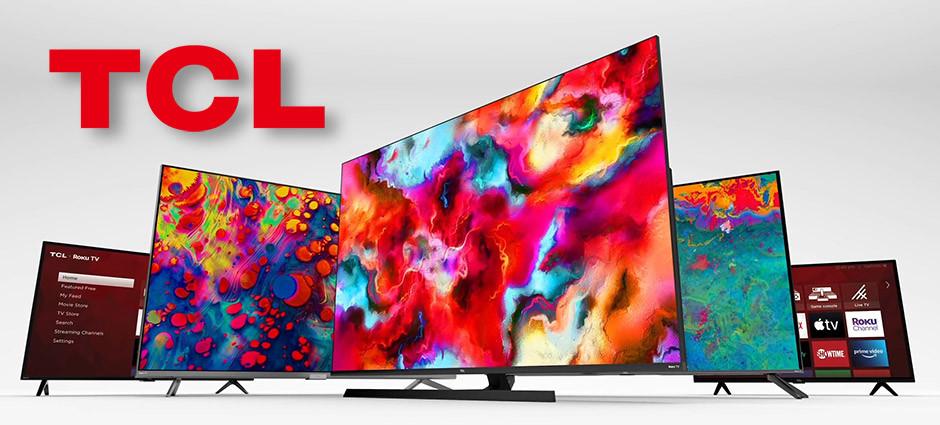 CES 2021 / TCL - tv models