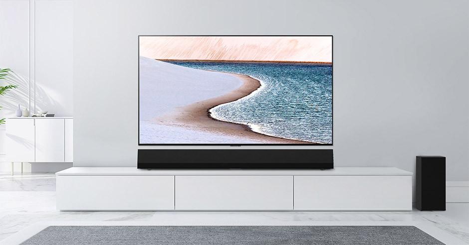 LG OLED GX Gallery + GX soundbar