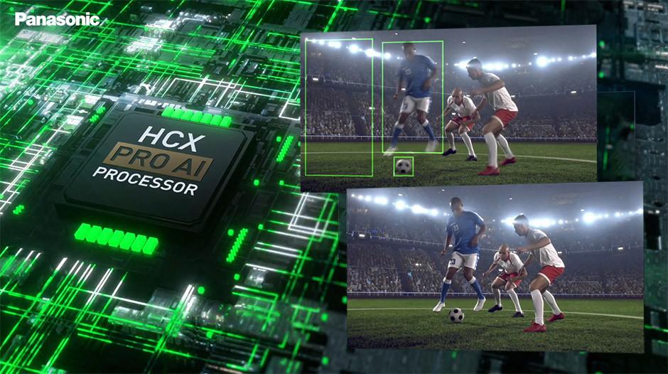 CES / Panasonic - JZ2000 - Processor HCT Pro AI in action