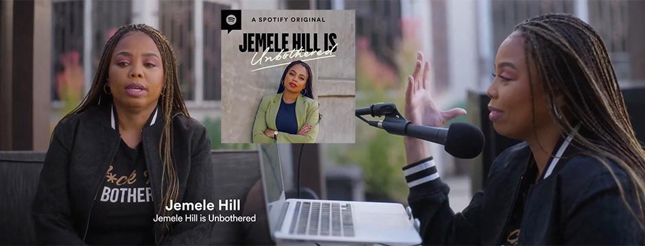 Spotify podcasts - Jemele Hill