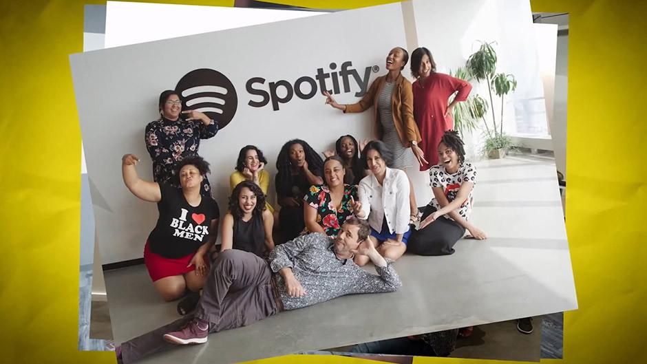 Spotify podcasts - Sound Up participants