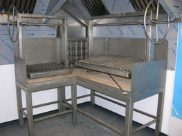 Commercial Restaurant BBQ Grill