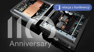 Denon'a 110 lat cz. 2 - rocznicowe nowości stereo: odtwarzacz, wzmacniacz i wkładka z serii A110
