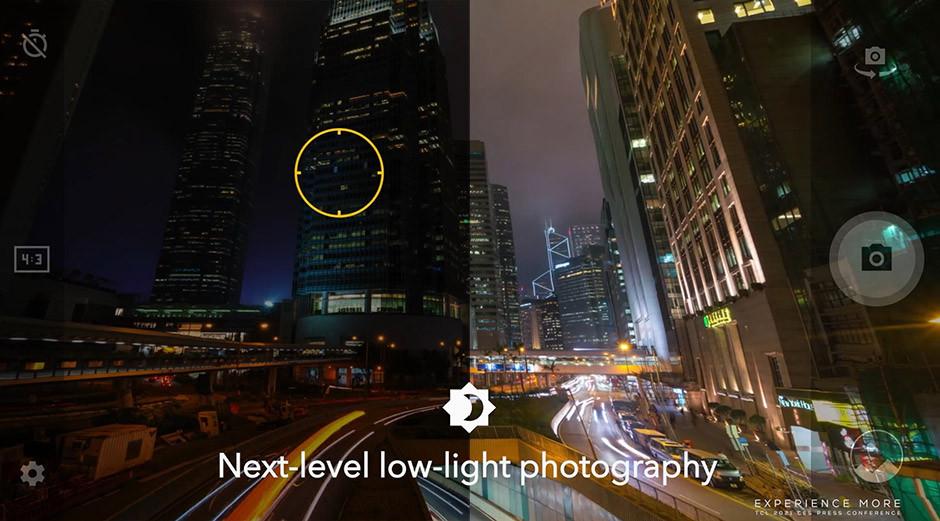 CES 2021 / TCL - 20 5G night shots