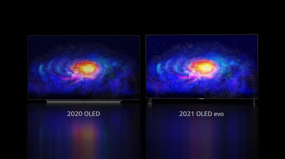 CES 2021 - LG OLED evo - 20% brighter