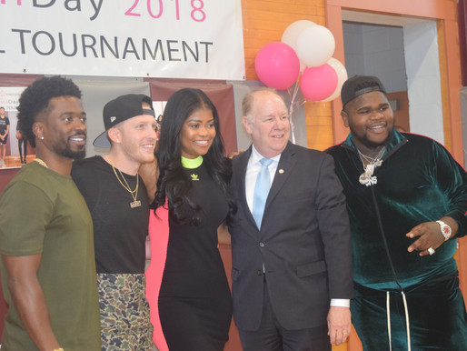 DJ Drewski, FatBoy SSE, and City Officials Celebrate Live Civil Day