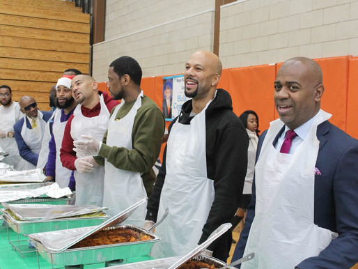 Hip-Hop Heavyweights Help Feed Newark's Homeless