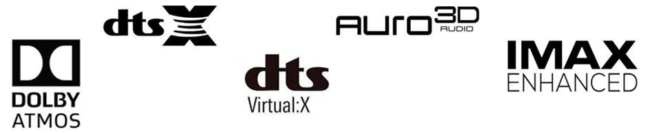 logo formatów dźwięku 3D