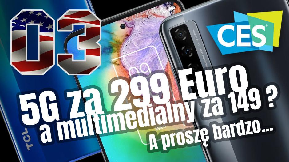 CES / TCL, czyli rolofony, smartfony, okulary i tablety