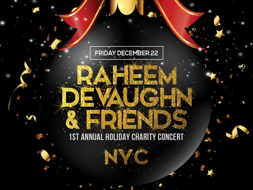 Raheem DeVaughn & Friends Spread Cheer With Charity Concert