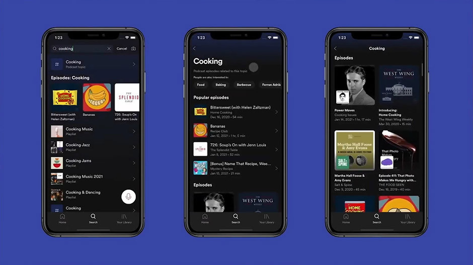 Spotify - new algorithm for podcasters