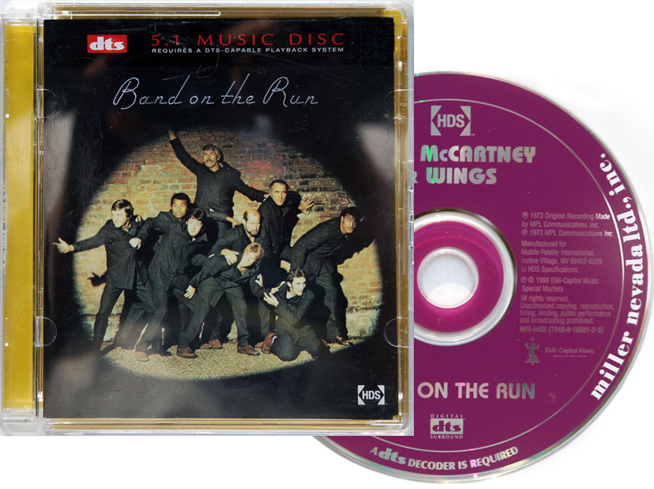Paul McCartney - Band on the Run - 5.1 DVD-Audio
