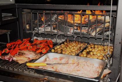 Event Catering Mobile BBQ Grill