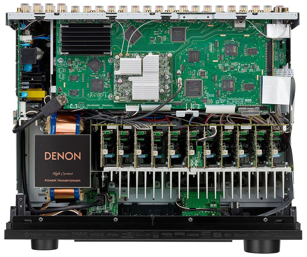 DENON AVC-X6700H - inside