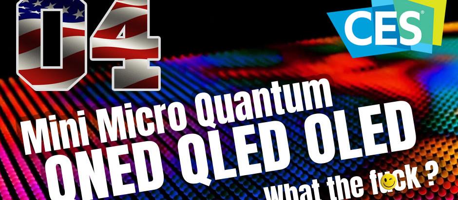 CES / Ach, te cholerne skróty, czyli czym się różni QLED od QNED, a Mini-LED od Micro-LED?