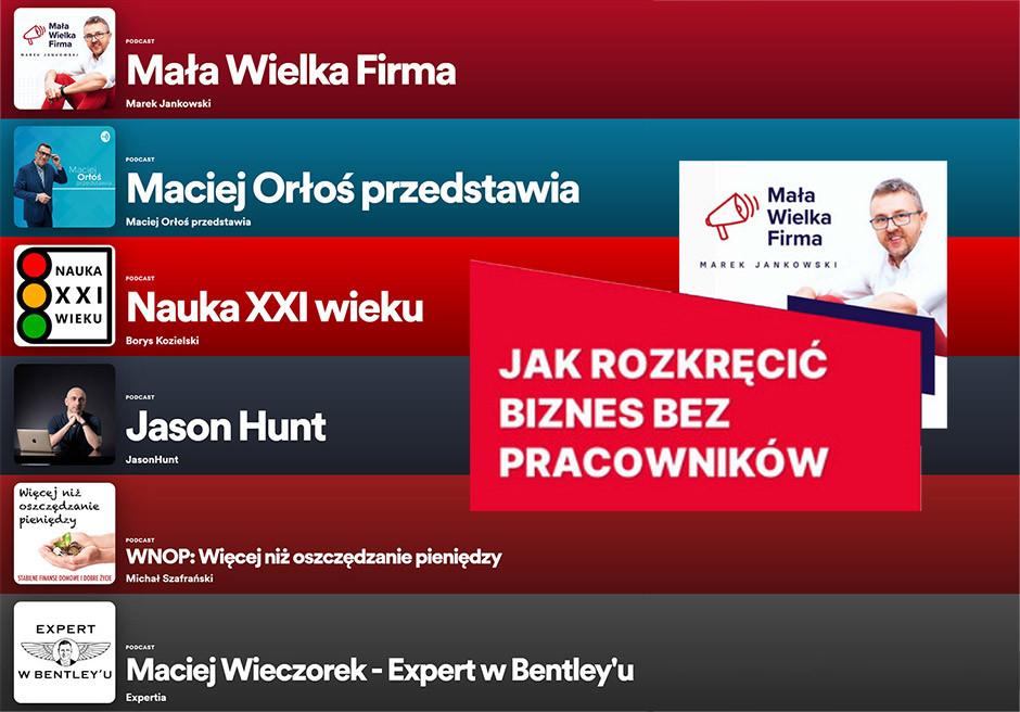 Spotify podcasts - Polish podcasts