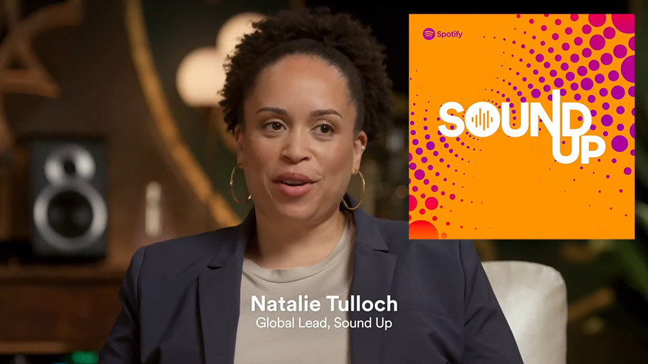Spotify podcasts - Natalie Tulloch from Sound Up