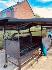Mobile Catering Barbecue