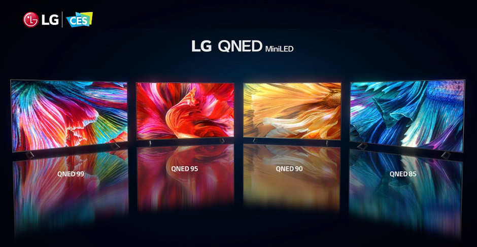 CES 2021 - LG QNED MiniLED lineup
