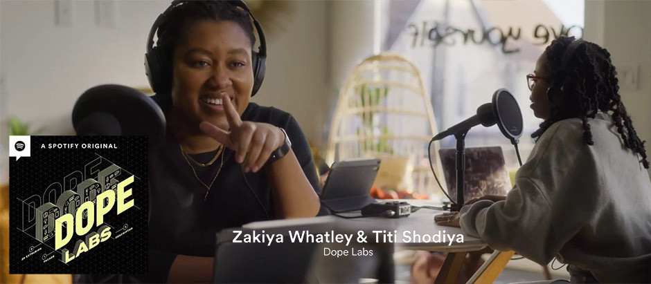 Spotify podcasts - Zakiya & Titi