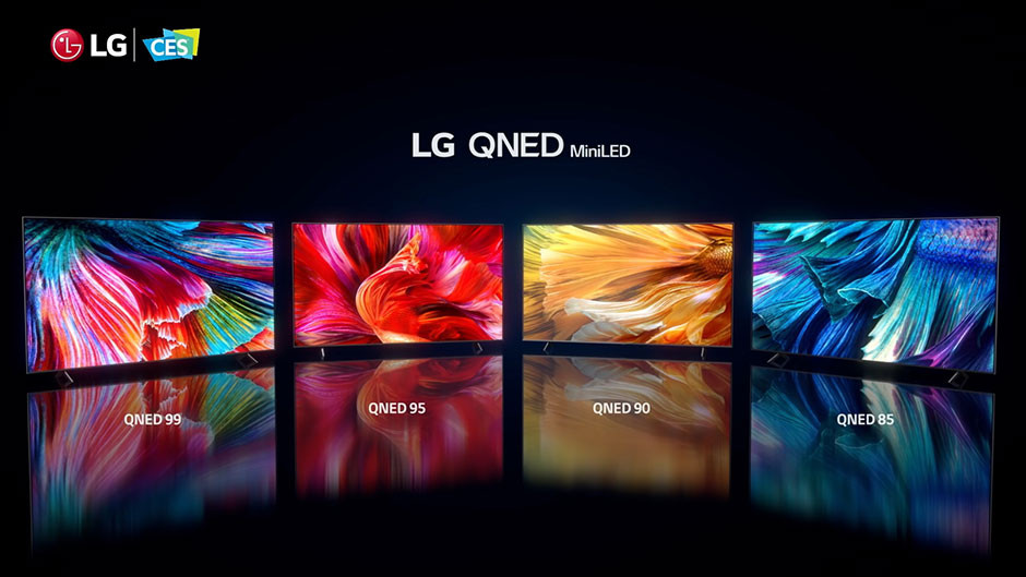 CES / LG - LG QNED MiniLED lineup