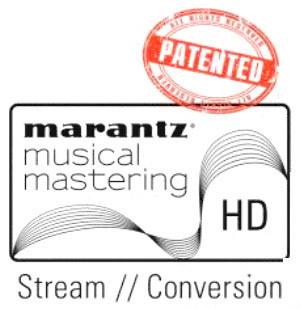 Marantz Musical Mastering logo