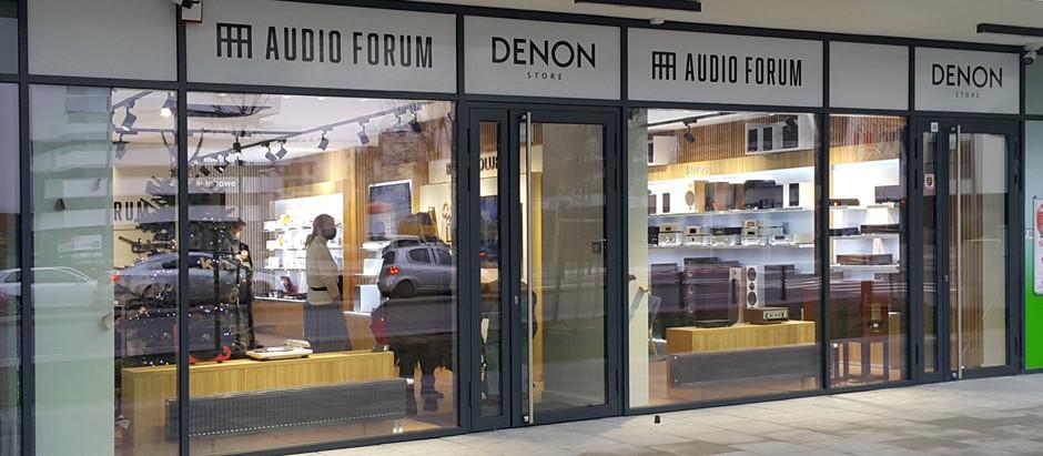 Kolejny salon sieci AUDIO FORUM w Warszawie / niepublikowane zdjęcia z otwarcia