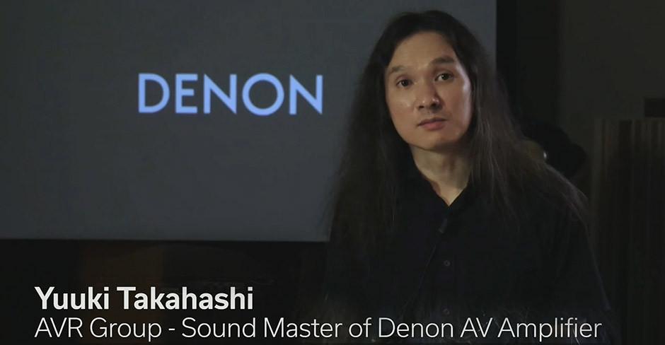 Yuuki Takahashi - AV Sound Master w Denon