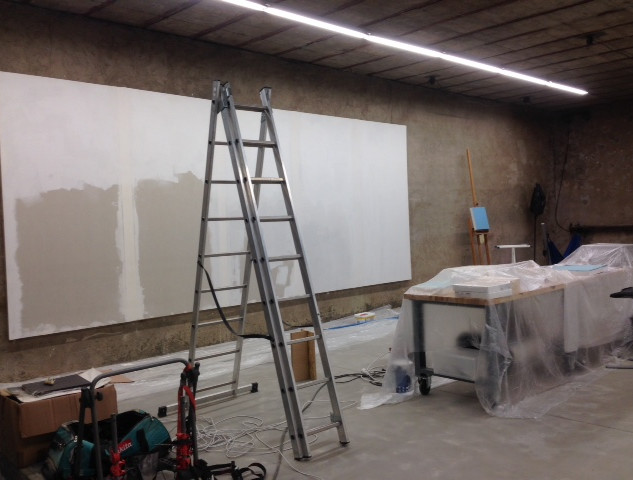 preparation of work surfaces