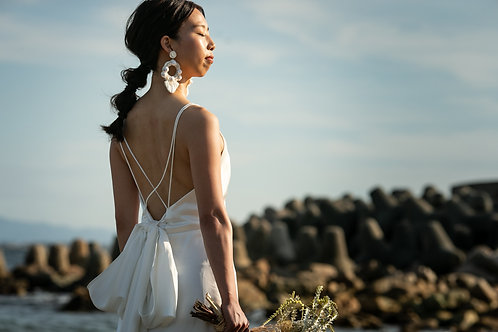 Bloom It Again - Simple Ribbon Gown-