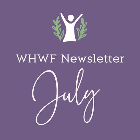 WHWF July Newsletter