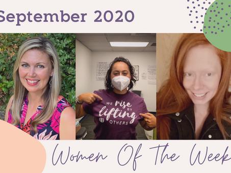 Women of the Week for September 2020