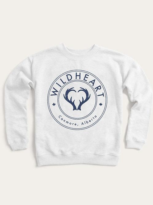 'WildHeart Crest' unisex crew