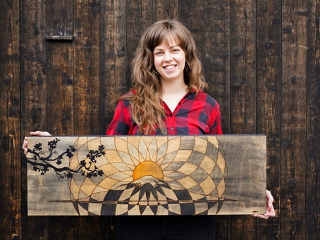 Blurring the Line Between Arts and Athletics: Artist Series 1 with Michelle MacDonald
